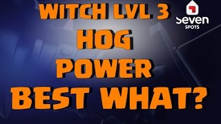 Clash of Clans Greece - Witch attack - Hog power - Best WORLD GREEK CLAN LOL
