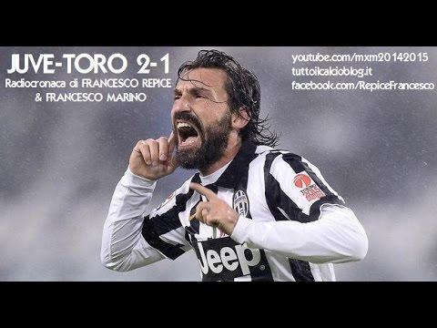 JUVENTUS-TORINO 2-1 - Radiocronaca di Francesco Repice & Francesco Marino (30/11/2014) Radiouno RAI