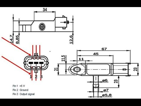 Renault/Bosch/Dacia retro-fit MAP sensor wiring warning - YouTube