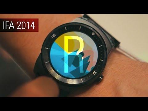 Первый обзор LG G Watch R