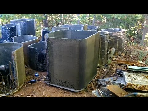 HVAC Scrap Metal Run