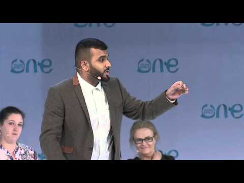 My name is Hussain | Mental Health Keynote speech | One Young World Bangkok