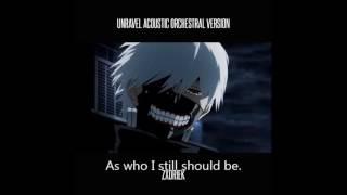 Opening Tokyo Ghoul Karaoke instrumental with english lyrics