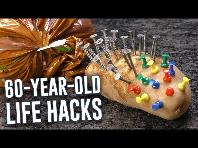 60-Year-Old Life Hacks Put To The Test