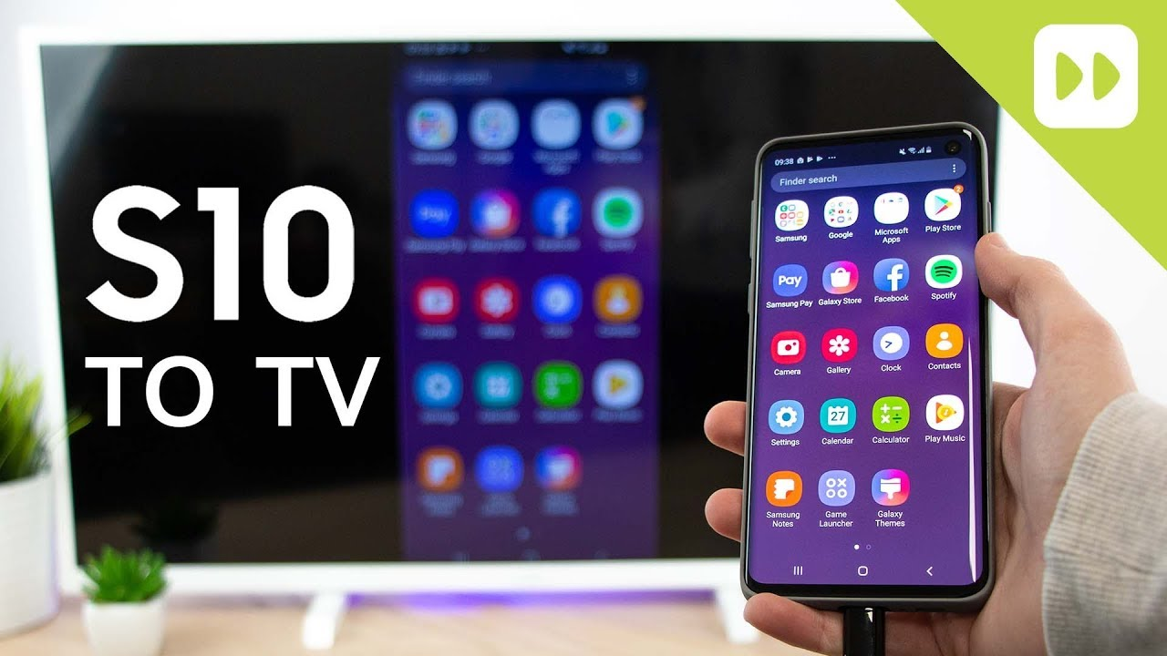 how to watch my samsung tablet on tv