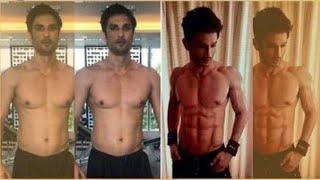 Gambar cover Sushant Singh Rajput  gym workout video  ms dhoni  rabbta  Sushant workout motivation video