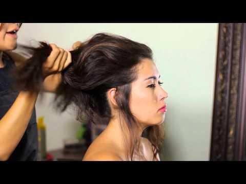 How to Do a Bardot Updo : Tress to Impress