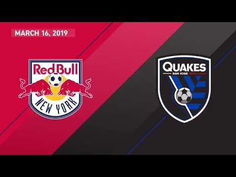 New York Red Bulls vs. San Jose Earthquakes | HIGHLIGHTS - March 16, 2019
