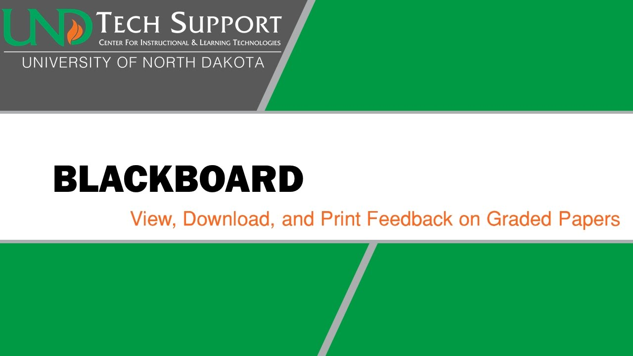 blackboard view download and print feedback on graded papers