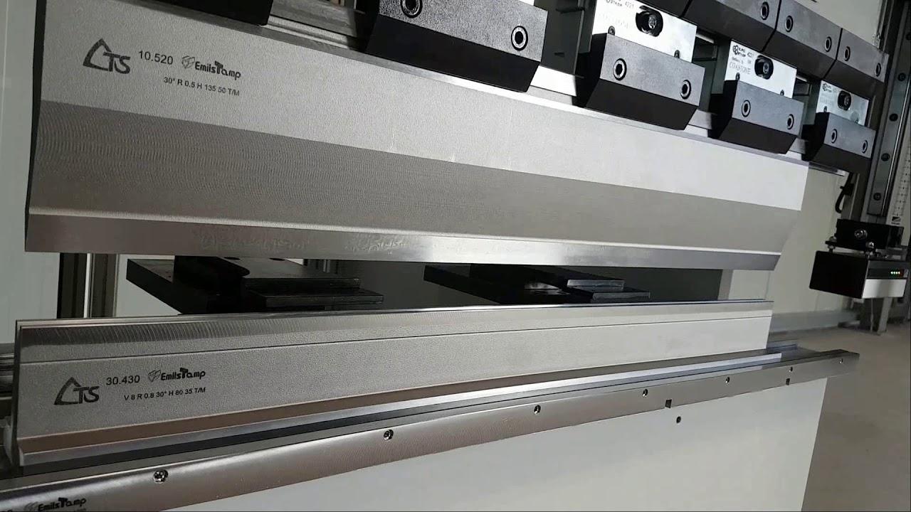 Abkantpresse CoastOne C12 elektrisch kompakt klein Blech biegen