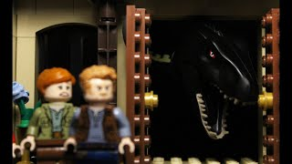 Мир Юрского Периода 2 за 1:43 в Лего.