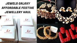 Jewels Galaxy Huge Jewellery Haul || Festive Wear and Teenager Affordable Jewellery ||