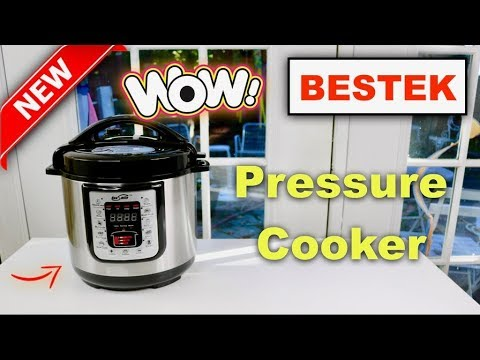😍   ALL-IN-ONE  Pressure Cooker ❤️    by BESTEK  - Review ✅