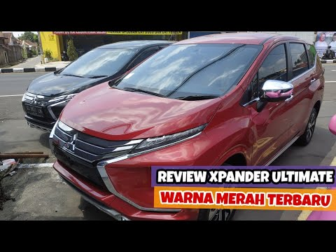 Review Xpander Ultimate AT Warna Merah Terbaru - Spesifikasi Keunggulan Mitsubishi Matic 2019