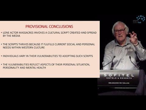The Lone Actor Script in Massacres - Prof. Paul Mullen