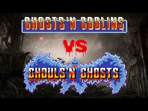 GHOSTS 'N GOBLINS vs GHOULS 'N GHOSTS - WHICH IS BEST?