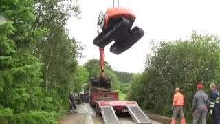 The Tale Of The Stuck Excavator. The Rescue Part 2