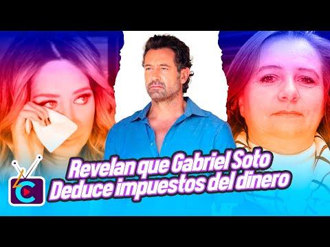 Revelan que Gabriel Soto deduce impuestos del dinero que le da a Geraldine Bazán