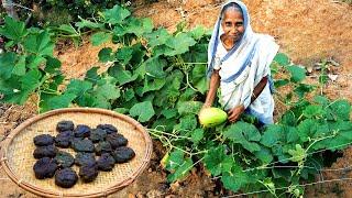 লাউ পাতার হারিয়ে যাওয়া রেসিপি | Traditional Farm Fresh Gourd Leaf Recipe by Grandmother