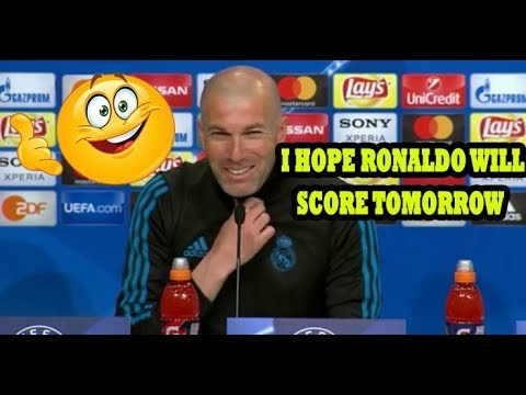 ZINEDINE ZIDANE FULL PRE MATCH PRESS CONFERENCE: [REAL MADRID ARE NOT GOING TO S**T THEIR PANTS]!