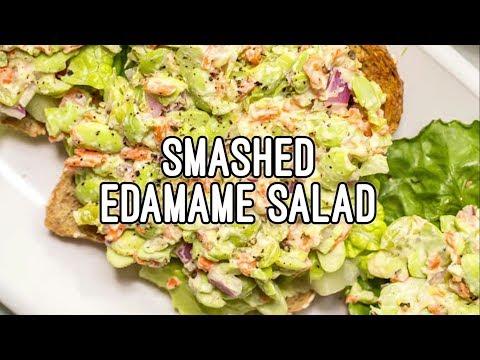 Smashed Edamame Salad