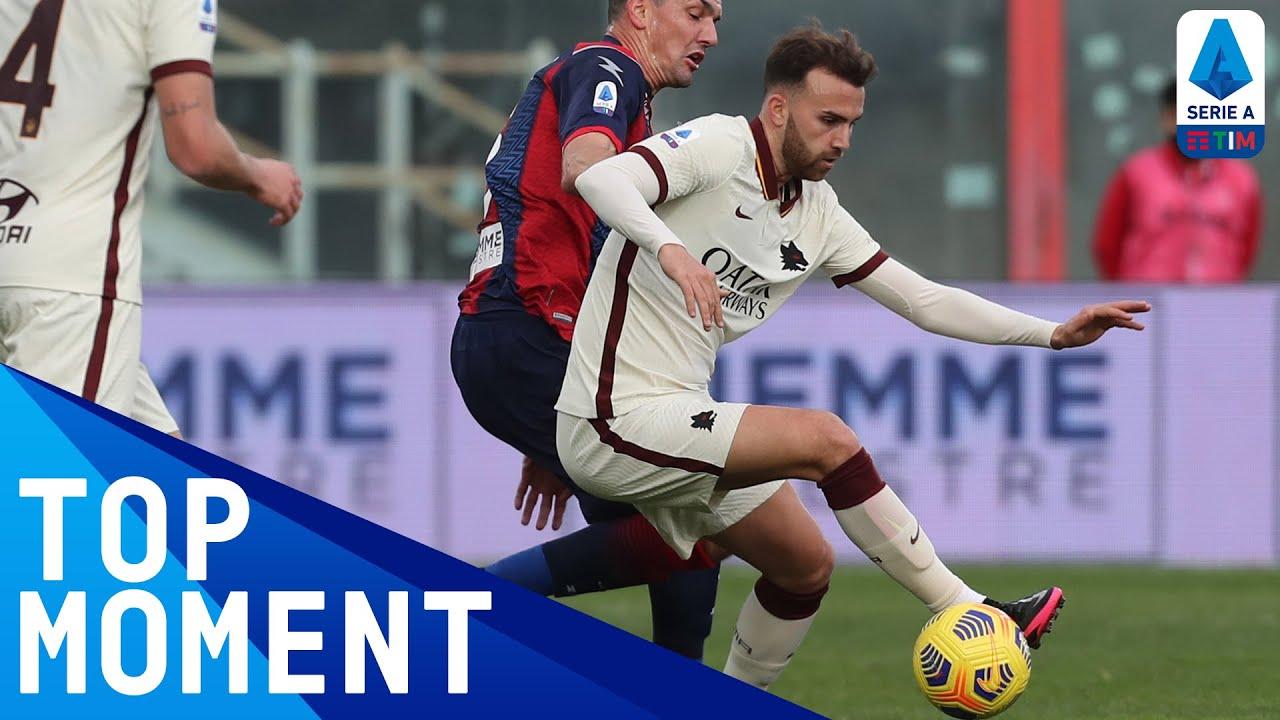 Borja Mayoral scores top-corner SCREAMER | Crotone 1-3 Roma | Top Moments | Serie A TIM