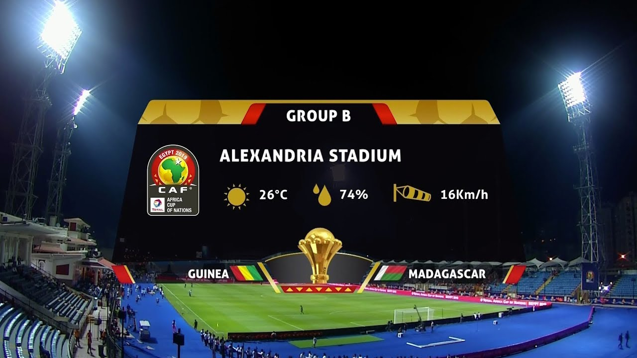 AFCON 2019 | Guinea vs Madagascar | Highlights