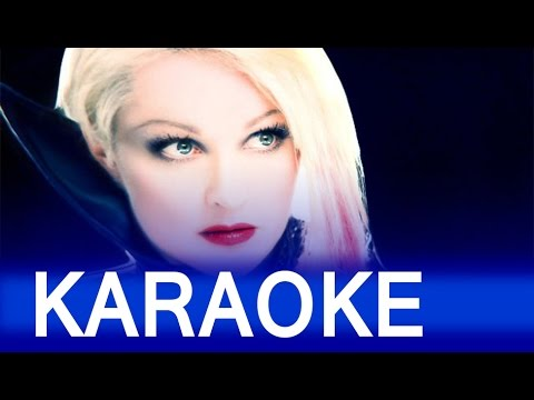 Cyndi Lauper - Girls Just Wanna Have Fun Lyrics Instrumental Karaoke