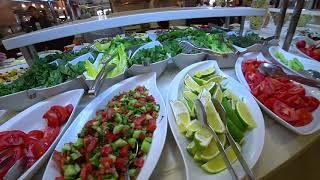 Чем же кормят гостей отеля Fame Residence Kemer Spa на завтрак Первое утро в отеле после грозы