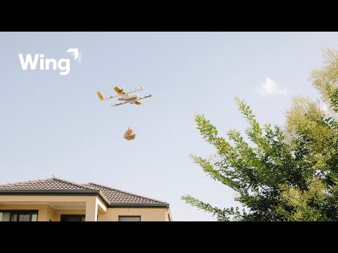 How does drone delivery service work?