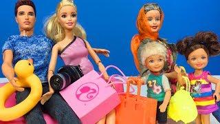 Barbie ve Ailesi Bölüm 122 - Tatil Planı - Çizgi film tadında Barbie oyunları