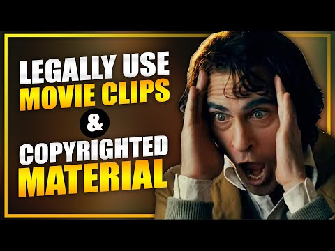 Fair Use: Legally Use Movie Clips & Copyrighted Material In Your YouTube Videos