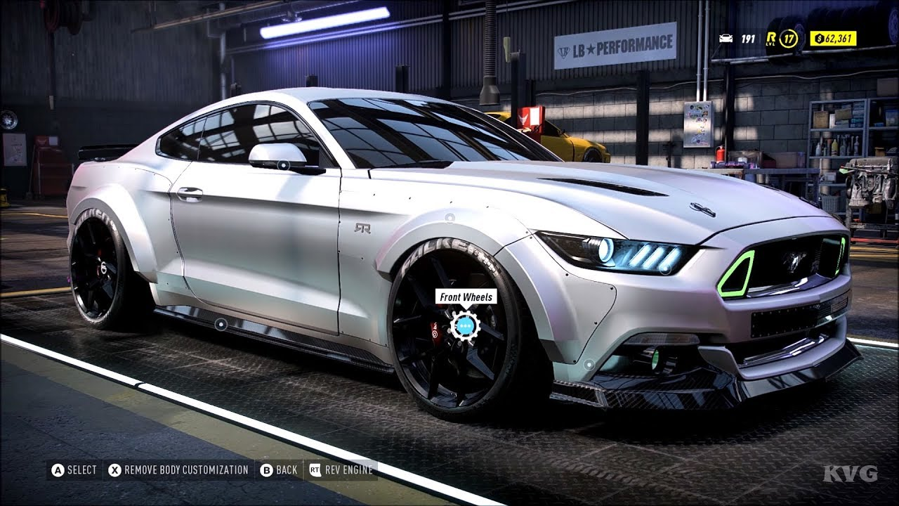 Need For Speed Heat Ford Mustang Gt 2015 Rtr Customize