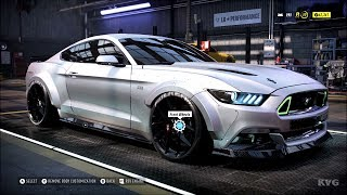 Need for Speed Heat - Ford Mustang GT 2015 (RTR) - Customize | Tuning Car (PC HD) [1080p60FPS]