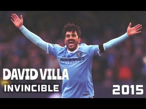 David Villa ● Invincible ● New York City ● 2015 HD