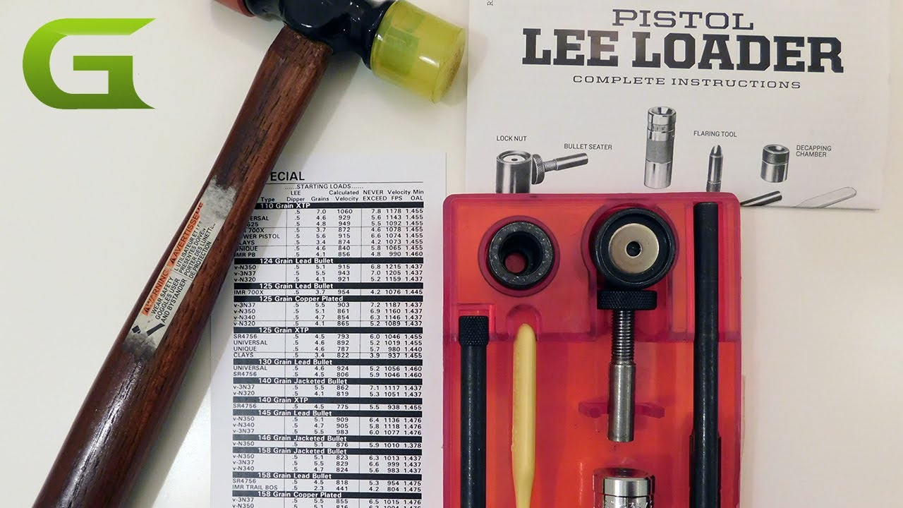 Gear Review: Reloading on a budget with the Lee Loader (VIDEO)