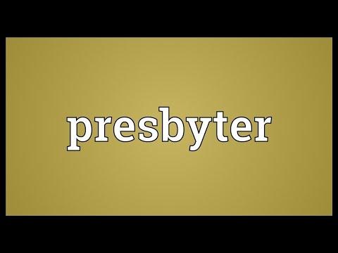 Header of presbyter