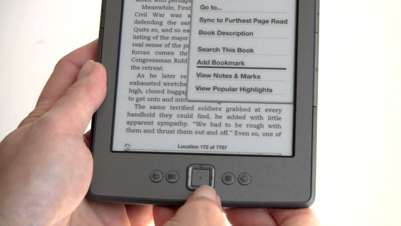 amazon kindle 4th gen review youtube rh youtube com Kindle User Guide 1st Edition Kindle User's Guide 2nd Edition