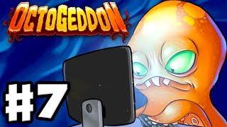 Octogeddon - Gameplay Walkthrough Part 7 - Endless Ocean Wave 50! (PC)