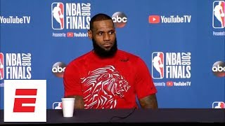 LeBron James on President Trump uninviting Eagles to White House: This is typical of him | ESPN