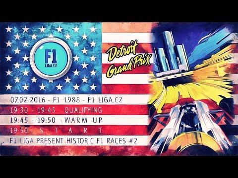 rFactor F1 1988: Detroit GP - Detroit Street Circuit Live Stream