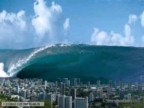 Prophetic Dream of Gulf Coast of Mexico and Texas Flooded by Hurricanes or Tsunami waters