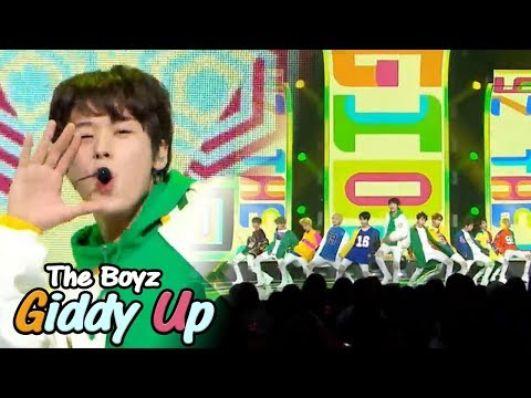 [HOT] THE BOYZ - Giddy Up, 더보이즈 - Giddy Up Show Music Core 20180512