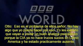 Otto Reich interview with BBC