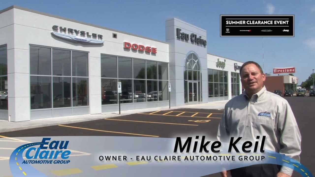 Eau Claire Car Dealers >> Tour Our New Facility At Eau Claire Auto Group Chrysler Dodge Jeep Ram Auto Dealership