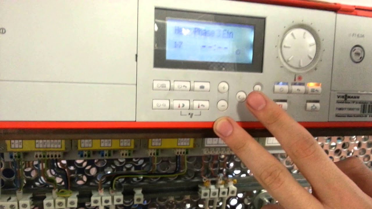 viessmann Einstellung - YouTube