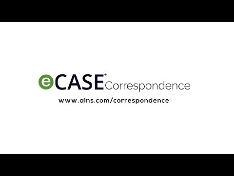 ecase correspondence streamline correspondence from creation to