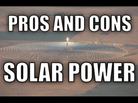 Pros and Cons of Solar Power