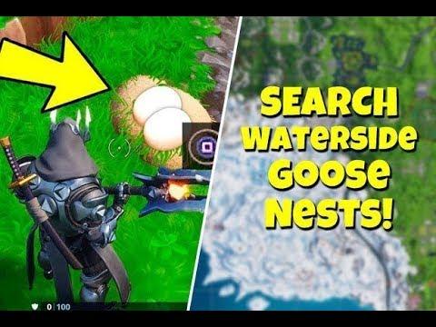All 6 Goose Nests Locations (Fortnite Battle Royal Season 6)