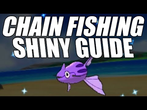 Chain Fishing Shiny Guide Omega Ruby & Alpha Sapphire - Shiny Pokemon Catch ORAS!